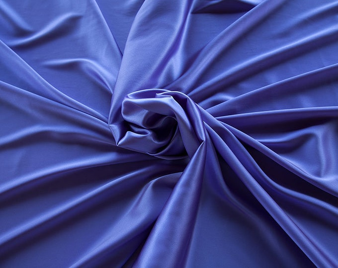 1713-206-crepe Satin Silk 97%, 6 Lycra, 135 cm wide, made in Italy, dry cleaning, weight 100 gr, price 1 meter: 58.87 Euros