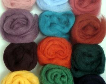 Felting Wool Artist's Palette #1 - Free Shipping