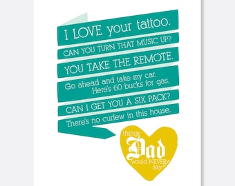 Funny Father's Day Card- Etsy