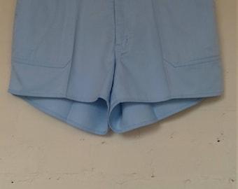 Light pastel blue shorts - size 10/12