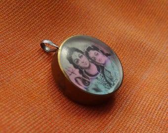 Shiva and Parvati - locket