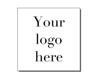 Business Stickers, Custom Logo Stickers,  Logo labels, Logo Stickers For Business, Your Logo Here