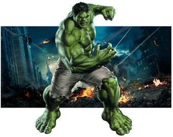 Backlit Hulk