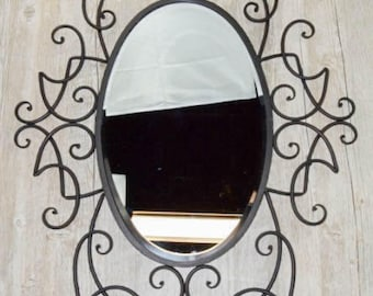 Rose Wall Mirror
