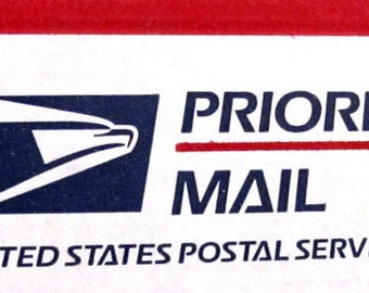 Domestic US Upgrade to Priority Mail
