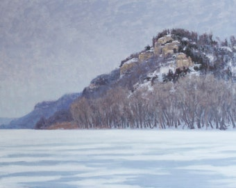 Frozen Lake Pepin
