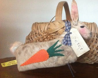 Primitive Peter Rabbit doll