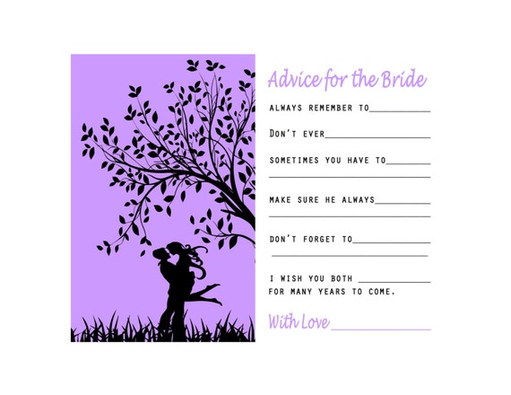 Accomplished image with regard to printable bridal shower card