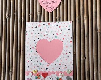 Love Card – Handmade Card - Birthday Card – Anniversary Card – Romantic Card – Anytime Card –  Be Mine Love Card