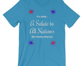 Salute to All Nations T-Shirt | Short-Sleeve | Unisex