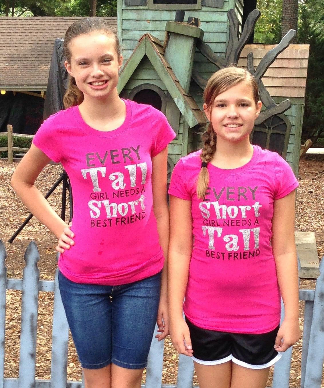 Every TALL Girl Needs a SHORT Best Friend Every Short Girl