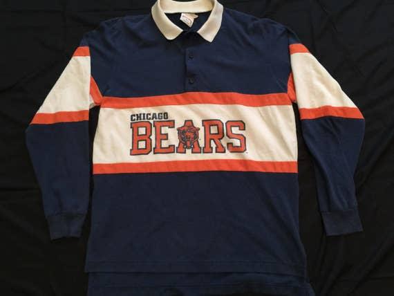 Rare Vintage Mens NFL Chicago Bears Football Flex Zubaz Crewneck Sweatshirt Size:XL hQhfsahQeg