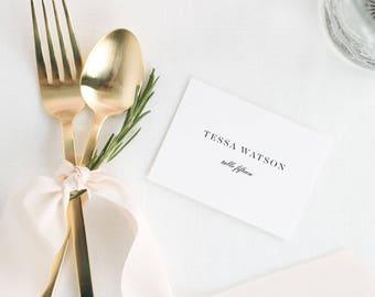 Tessa Place Cards - Deposit