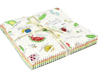"""Maywood Studio Lil Sprout **Flannel** Too 10"""" Layer Cake"""