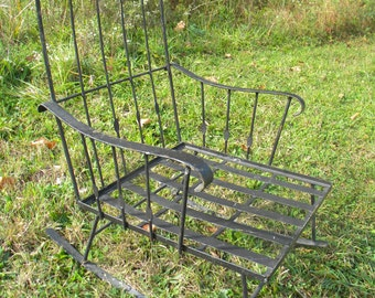 Pick Up Only Fantastic Rare Vintage 1940s Or Older Wrought Iron GALLO Iron  Works Outdoor PATIO ROCKING Rocker Chair Pick Up Only