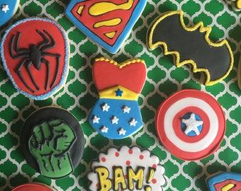 Custom Superheo Sugar Cookies