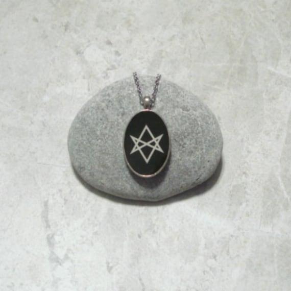 Unicursal hexagram necklace pendant jewelry mozeypictures Images
