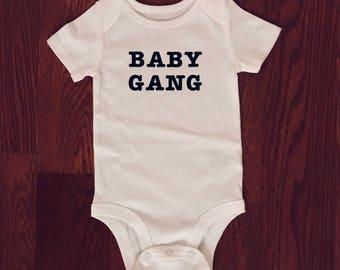 Baby Gang organic onesie