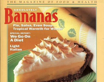 Vintage Eating Well Magazine January & February 1993 The Magazine of Food and Health PSS 3461