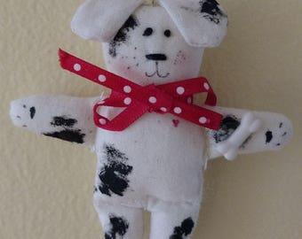 Dog ornament, Doggie ornament, Pooch ornament, Dog, Christmas Ornament, Miniature, Spot, Miniature, Christmas tag, Bark, Bow wow, Dog bone