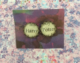 Harry Potter Earrings - Harry Potter - Book Earrings