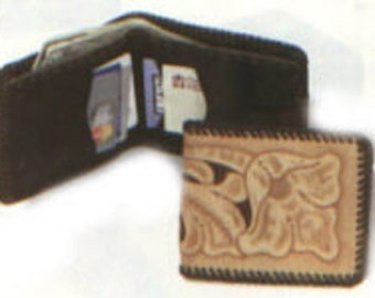 Leather Top Notch Wallet Project Kit