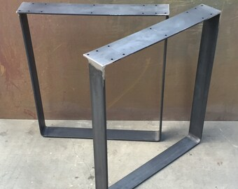 Metal table legs set of 2