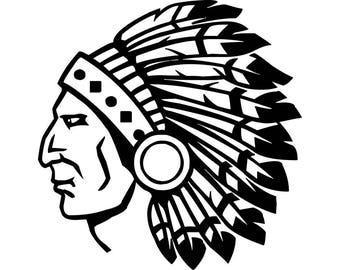 indian head logo etsy