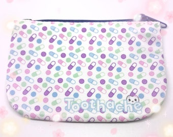 Pastel Pills Coin Purse