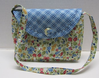 Little Girls Purse Little Darlings Fabric