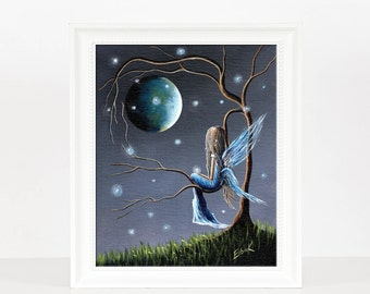 Beautiful World Of Fairies - Fairy Pictures - Fairy Prints - Fine Art Print - Bedroom Decor - Home Accents - Limited Edition - 8x10