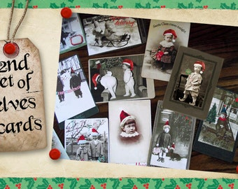 2nd set of christmas trading cards