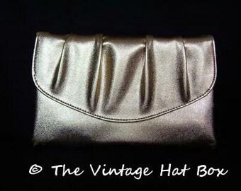 Vintage Gold Lame' Handbag