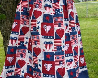 4th of July Dress, God Bless America, Fourth of July Dress, July 4th Dress, Fourth of July Outfit, July 4th Outfit, Girl Country Dress