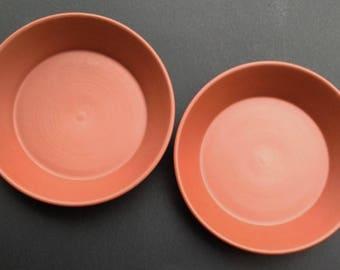 Pie Plates, 2 Red Clay Pie Plates, Pottery Pie Plates, Handmade Pie Plates, Deep Dish Pie Plates