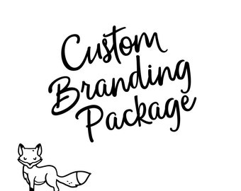 Custom Branding Package - Logo Design - Brand Identity - Marketing Package - Business Branding - Branding Kit