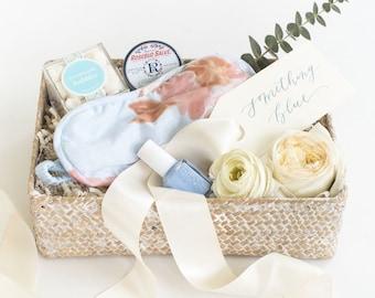 Last Minute Bridal Shower Gift, Blue Bride Gift, Sugarfina, Fast Bridal Gift, Gift Set For Bride, Something Blue For Bride, SHIPS FREE