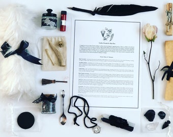 Gothic Witchcraft Rituals & Altar Box Set