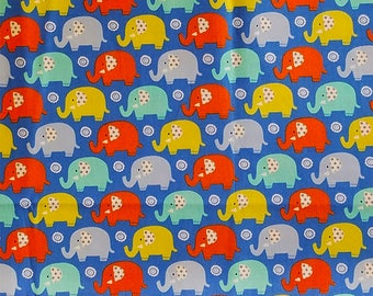 MINI ELEPHANTS , Michael Miller, 100% Cotton Quilting Fabric Apparel, Fabric by the Yard