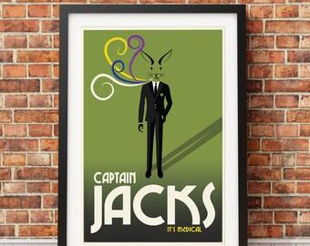 Cannabis Dispensary Poster (Captain Jacks)