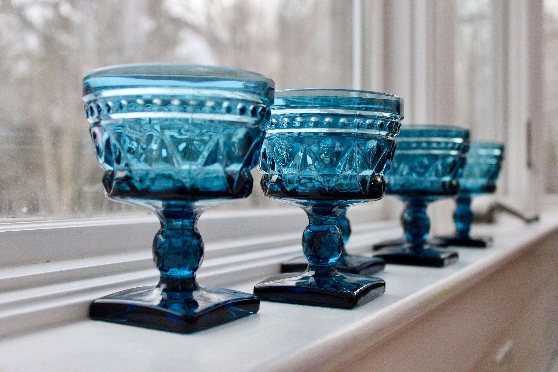 Vintage Glass Goblets