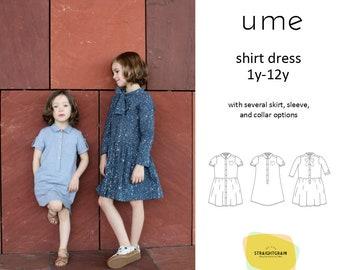 Ume shirt dress