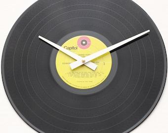 Grand Funk Railroad - Grand Funk (The Red Album) - Handmade Vinyl Record Clock