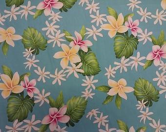 Cotton Hawaiian Print  (Yardage Available)