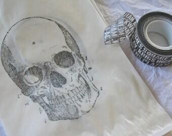 Skull Glassine Favor Bags, Goth