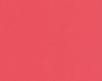 Kona® Cotton in Watermelon K001-1384 from Robert Kaufman 1/2 Yard