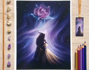 Beauty & The Beast art prints