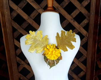 Golden Woodland Fairy Wings