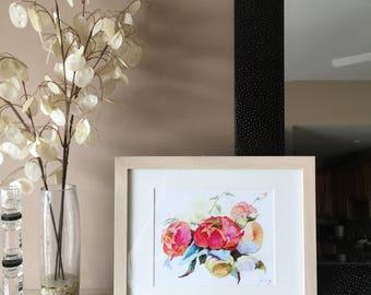 Flower Bouquet Fine Art Print
