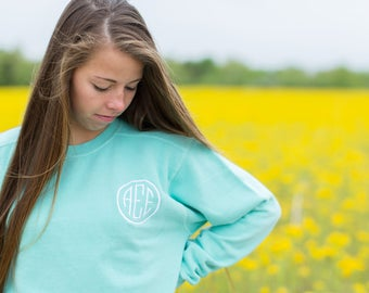 Monogram Comfort Colors Crewneck Sweatshirt